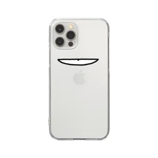 べつやく目 Clear Smartphone Case