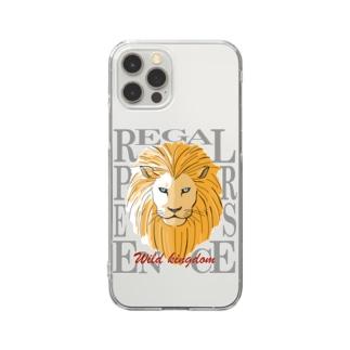 野生の王国 Clear Smartphone Case