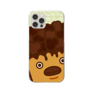 POPE-Choco- Clear smartphone cases