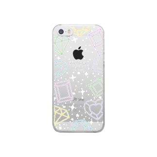 きゅうぴふぉん Clear smartphone cases