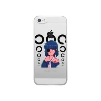 視力検査 Clear smartphone cases