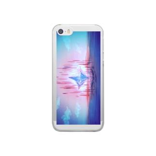 創造の地にて Clear smartphone cases