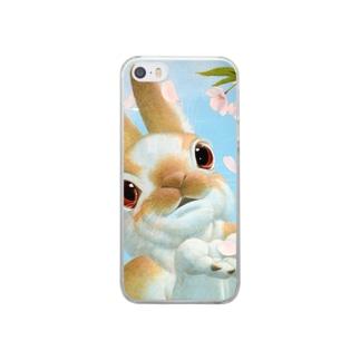 月の旅人 Clear smartphone cases