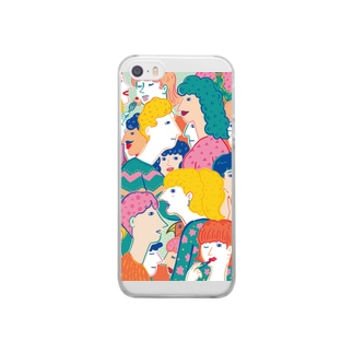 pleasant people Clear smartphone cases