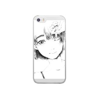 おんなのこ Clear smartphone cases