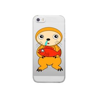 カナメリアン君 Clear smartphone cases