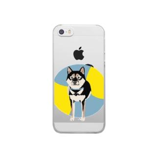 浮き和犬 Clear smartphone cases