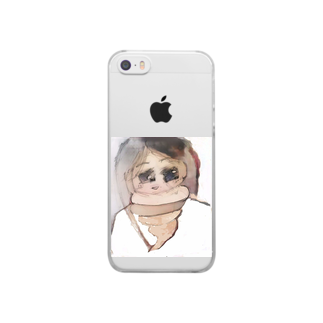 A-craft工房のううこ Clear smartphone cases