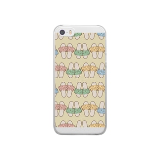 Beach Sandals! Clear smartphone cases