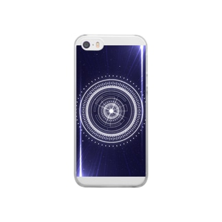LAZER CIRCLE Clear smartphone cases