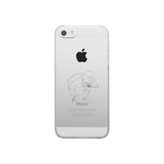 あ Clear smartphone cases