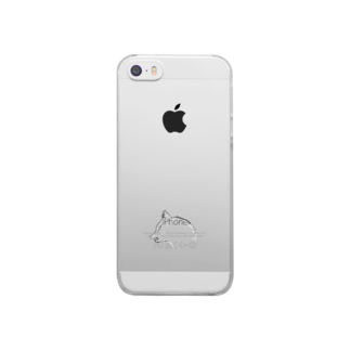 mirukurumiのWolf Clear smartphone cases