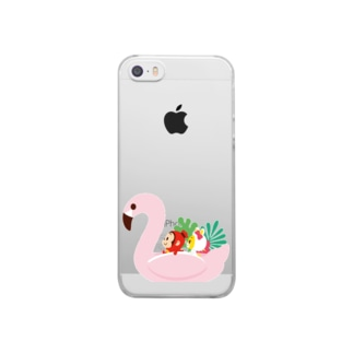 Swan Clear smartphone cases