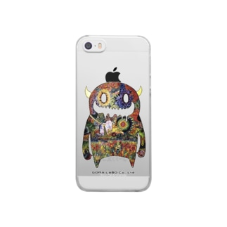 MOON MONSTER Clear smartphone cases