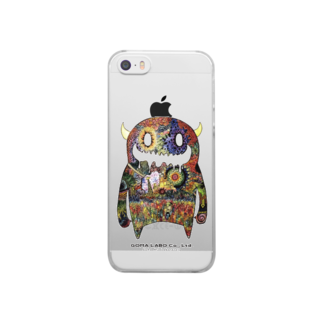 GOMA【公式】🐑©︎のMOON MONSTER Clear smartphone cases