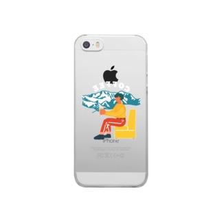 マウンテン・イン・トーキョー Clear smartphone cases