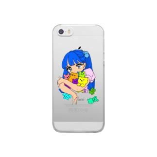 よせあつめ Clear smartphone cases