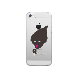 Elizabeth I Clear smartphone cases