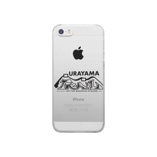 ウラヤマトレイル デザイン3 Clear smartphone cases