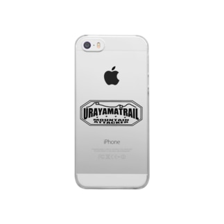 ウラヤマトレイル デザイン2 Clear smartphone cases