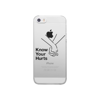 Know Your Hurts Clear smartphone cases