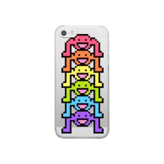 ことだま日記 グッズショップのパーリーピーポー Clear smartphone cases