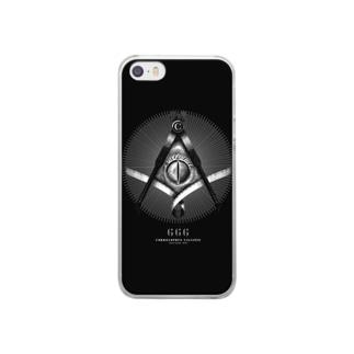 秘密結社クレスメイソン Clear smartphone cases