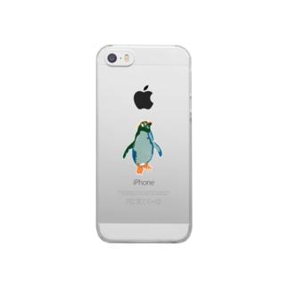 ペンギンシリーズ Clear smartphone cases