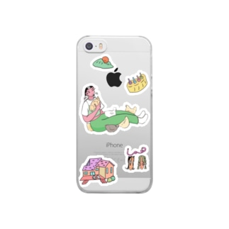 Australian Mix Clear smartphone cases