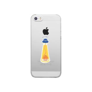 ナポリタン泥棒 Clear Smartphone Case