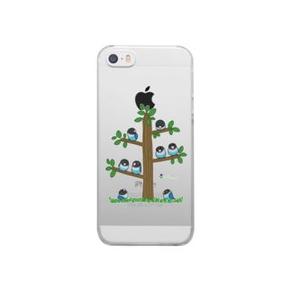 LOVEBIRD BOTAN Tree Clear smartphone cases