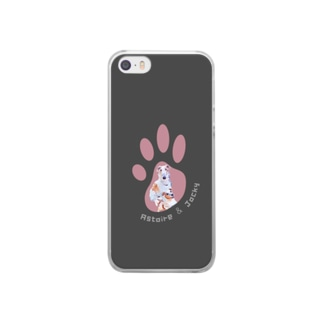 ジャッキー Clear smartphone cases