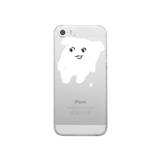 よよ(くろ) Clear smartphone cases