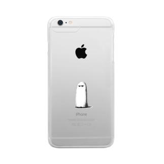 長い毛 i Clear smartphone cases