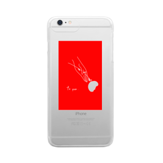 2wins_yuriyuriのto you . (plusの方) Clear smartphone cases