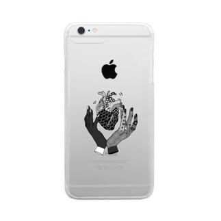 感染浮遊 Clear smartphone cases