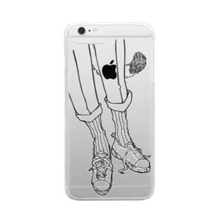 neko Clear smartphone cases