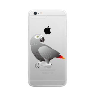ヨウム 復刻版 Clear smartphone cases