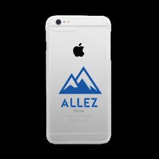 maru cityのALLEZ Clear smartphone cases
