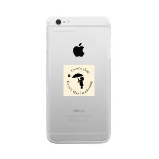 こっこのお店 Clear smartphone cases
