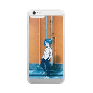 Akihabara Yellow Wall Clear smartphone cases