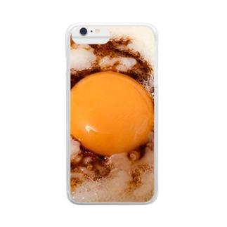 卵かけご飯、 Clear smartphone cases