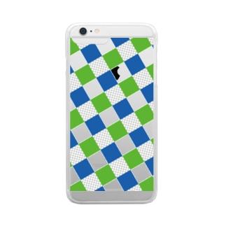 見る人で変わるそれぞれの透明 Clear smartphone cases