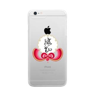 ~ 結ひ ~ Clear smartphone cases