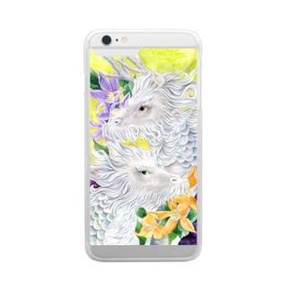 麒麟_スマホケース Clear smartphone cases