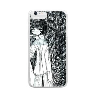 バッドトリップくんケース Clear smartphone cases