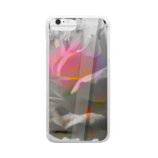 """""""危麗/no rose without a ×××""""-iPhone6s Plus/6 Plus Clear smartphone cases"""