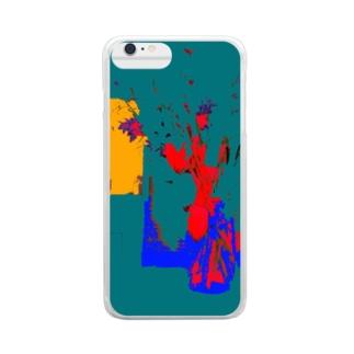 装飾のために、計算され切り取られるもの。 Clear smartphone cases