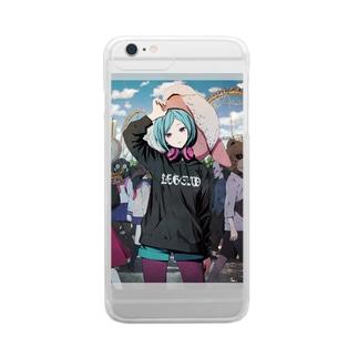 モトメトインテ Clear smartphone cases