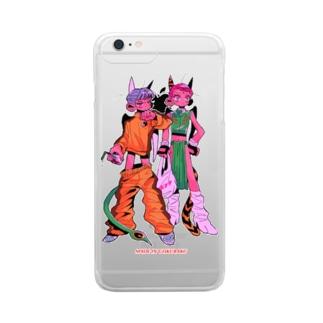 酔拳 Clear smartphone cases